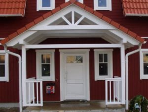 Veranda 3 mit Unterdach offen