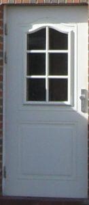 Haustür 1 weiß